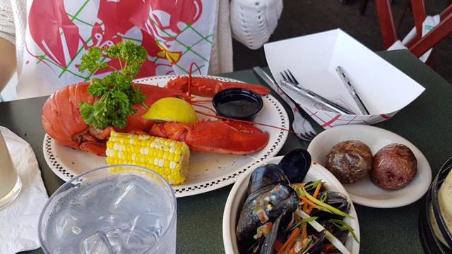Le homard, le Clam Chowder et les phares du Cape Cod National Seashore(3/4)