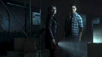 "Extrait du jeu ""Until dawn"""